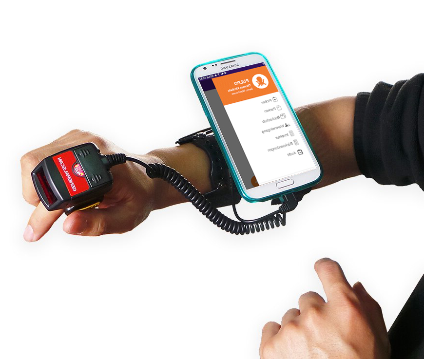 New Pulpo App Armband Ring Barcod Scanner 1